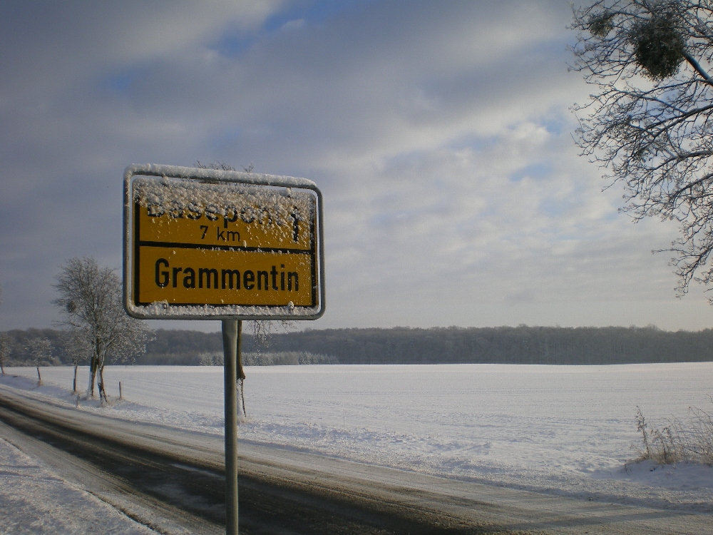 Winter in Grammentin